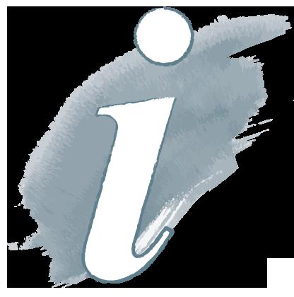 """Icon zeigt ein """"i"""""""