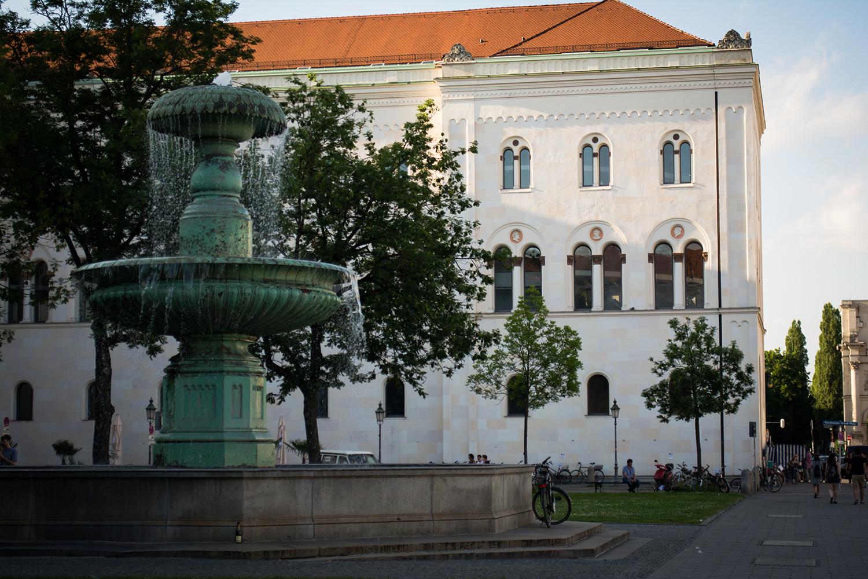 Brunnen der LMU München