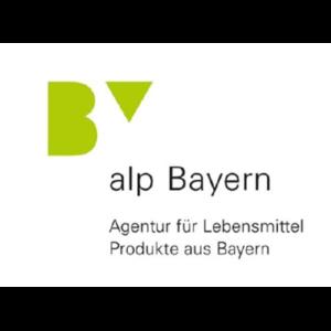 Das Logo von der Agentur für Lebensmittel Produkte aus Bayern